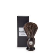 barberians copenhagen shaving brush pure badger 2108 with box
